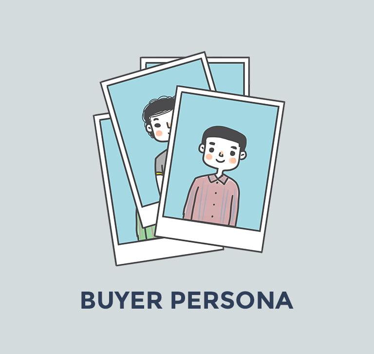Ejemplo de buyer persona en el que aparecen fotografías de distintas personas