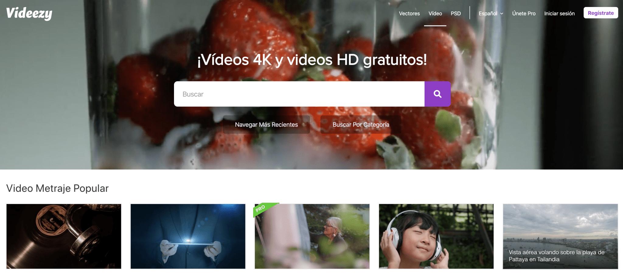 Videezy, vídeos 4k y vídeos HD gratuitos