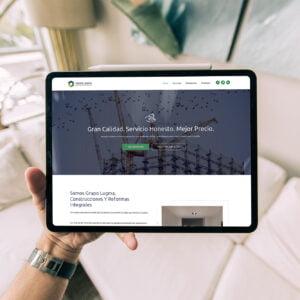 diseño web constructora